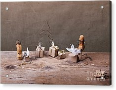 Simple Things - Christmas 05 Acrylic Print by Nailia Schwarz