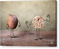 Simple Things 01 Acrylic Print by Nailia Schwarz