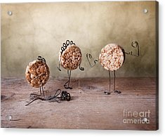 Simple Things 07 Acrylic Print by Nailia Schwarz