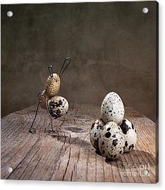 Simple Things Easter 07 Acrylic Print by Nailia Schwarz