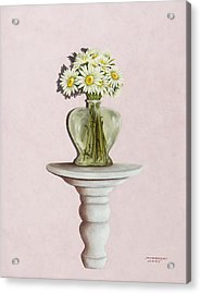 Simple Things Acrylic Print by Mary Ann King