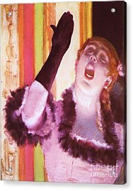 Singer With The Glove Acrylic Print by Pg Reproductions