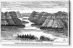 Sioux: Rosebud River Acrylic Print by Granger