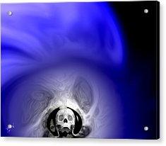 Skull Scope 1 Acrylic Print by Adam Vance