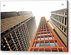 Skyscrapers Acrylic Print by Luiz Felipe Castro