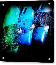 Slash Acrylic Print by Tim Nichols