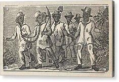 Slaves Often Travel In �coffles,� Acrylic Print by Everett