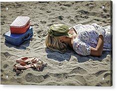 Sleeping Beauty Acrylic Print by Joana Kruse