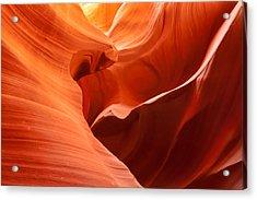 Slot Canyon Acrylic Print by Jim Clark - JM Clark Photography