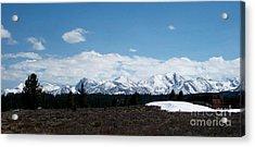 Snow Caps  Acrylic Print by The Kepharts