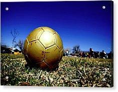 Soccer Season Starts Acrylic Print by Scout J Photography