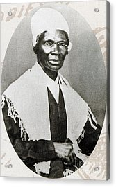 Sojourner Truth, African-american Acrylic Print by Photo Researchers