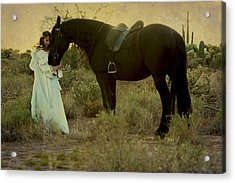 Solace Acrylic Print by Jean Hildebrant