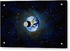 Solar Eclipse Acrylic Print by Bruce Iorio