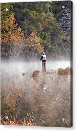 Solitude Acrylic Print by Cindy Rubin