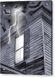 Something Wicked Acrylic Print by Brian Wallace