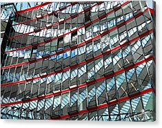 Sony Center - Berlin Acrylic Print by Juergen Weiss