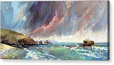Sorrento Storm Acrylic Print by Pamela Pretty