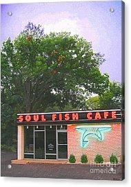 Soul Fish Acrylic Print by Lizi Beard-Ward
