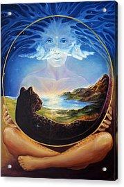 Soul Of Creation Acrylic Print by Ann Beeching