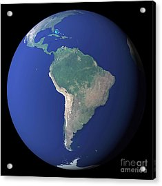 South America Acrylic Print by Stocktrek Images