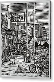 South Congress Acrylic Print by William Cauthern