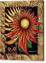 Southwest Sunrise Acrylic Print by Karla White