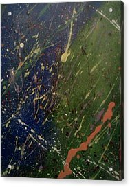 Space Acrylic Print by James Adger