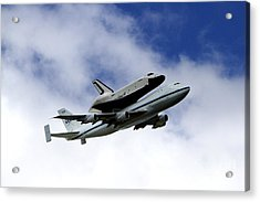 Space Shuttle Enterprise Acrylic Print by Thanh Tran