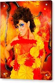Spaniard Acrylic Print by Artista Elisabet