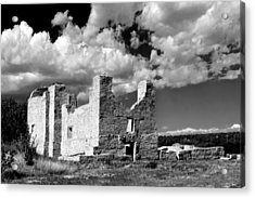 Spanish Mission Ruins Of Quarai Nm Acrylic Print by Christine Till