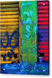 Spare A Spill Acrylic Print by Skip Hunt