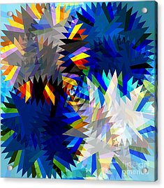 Spinning Saw Acrylic Print by Atiketta Sangasaeng