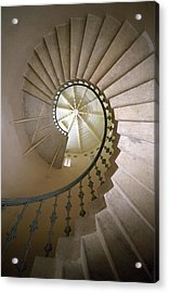 Spiral Stairs - Krakow Acrylic Print by Martin Cameron