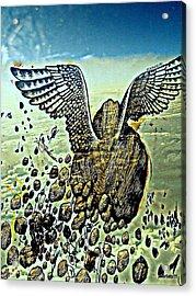 Spiritual Imperfection Of Human Beings Acrylic Print by Paulo Zerbato
