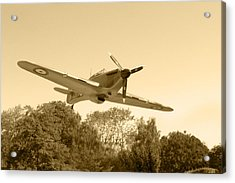 Spitfire Acrylic Print by Chris Day