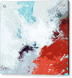 Splash Acrylic Print by Glennis Siverson