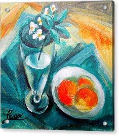 Spring Melody II Acrylic Print by Leon Zernitsky