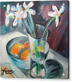 Spring Melody  Acrylic Print by Leon Zernitsky