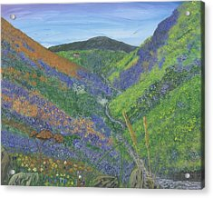 Spring Time In The Mountains Acrylic Print by Lori  Theim-Busch