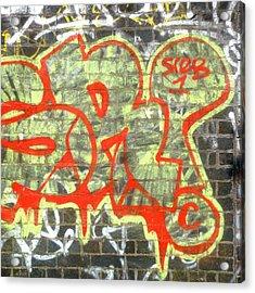 Urban Acrylic Print featuring the photograph Sreb 1 by Roberto Alamino