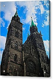 St. Lorenz Church - Nuremberg Acrylic Print by Juergen Weiss
