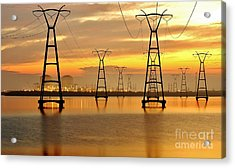St. Lucie Nuclear Power Plant Acrylic Print by Don Youngclaus