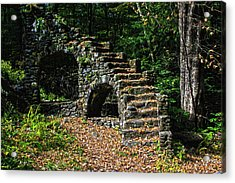 Stairs To Nowhere Acrylic Print by Tanya Chesnell