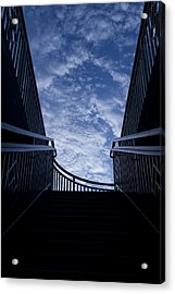 Acrylic Print featuring the photograph Stairway To Heaven by Joel Witmeyer