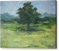 Standing Tree Acrylic Print by Ken Krug