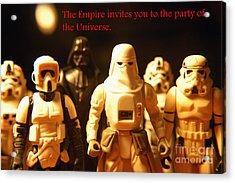 Star Wars Gang 2 Acrylic Print by Micah May