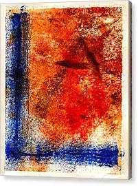 Stark Streak Acrylic Print by Kimanthi Toure