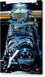 Start Your Engines Acrylic Print by Melissa Wyatt