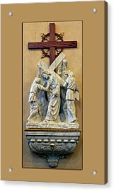 Station Of The Cross 05 Acrylic Print by Thomas Woolworth